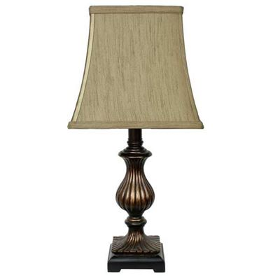 "Picture of 18"" Bronze Accent Lamp"