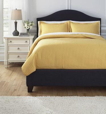 Imagen de Solid Queen Comforter Set *D