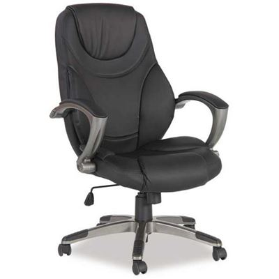 Picture of Black Luxhide Executive Chair