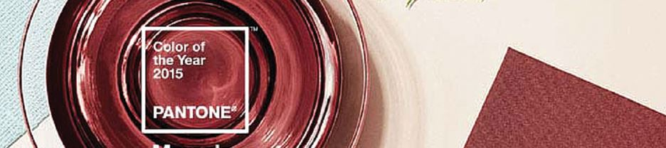 Pantone's 2015 Color of the Year - Marsala