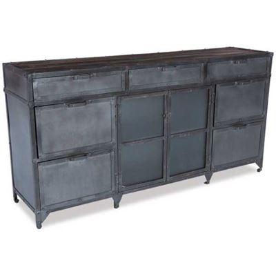 Imagen de Iron 7 Drawer, 2 Door Cabinet