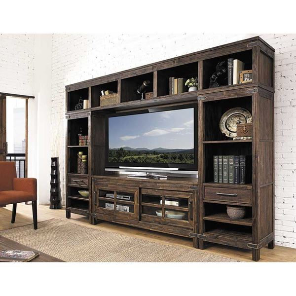 New Castle Entertainment Wall Unit 6268 Wall64