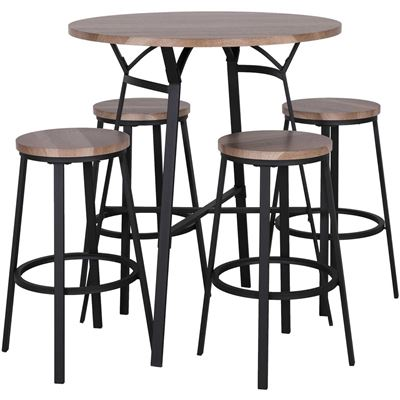 Picture of Kowloon 5 Piece Pub Set