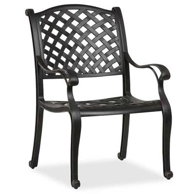 Picture of Cast Aluminum Arm Chair