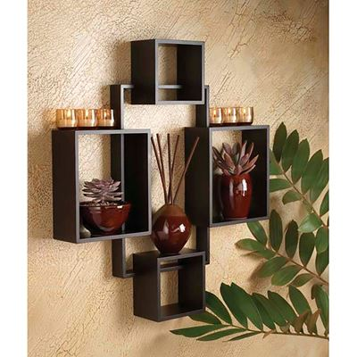 Construction Material; Wood · Picture Of Tawny Wall Shelf