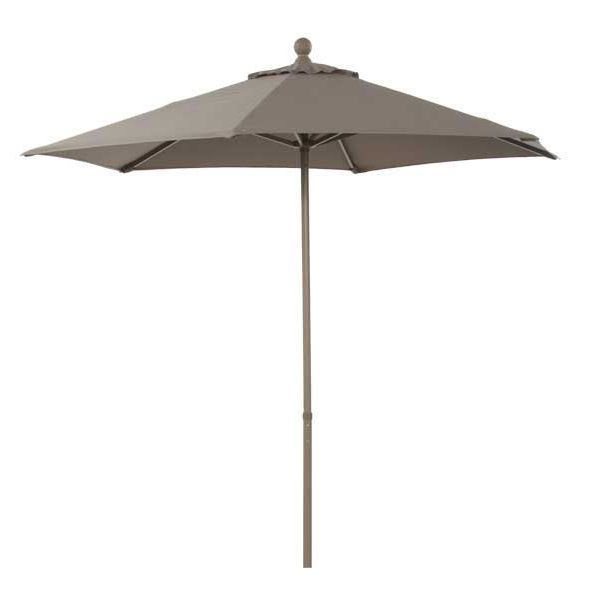 Picture of 7.5 Ft Taupe Push-up Umbrella