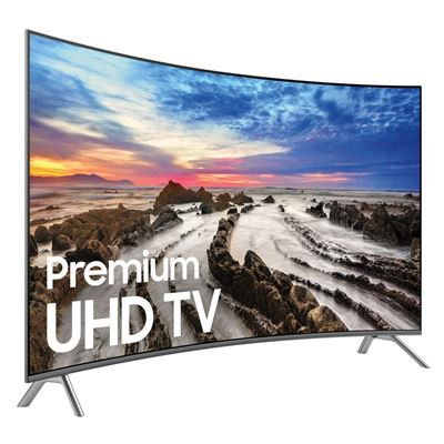 Picture of 65-Inch Curved Ultra Hi-Definition 4K Smart LED UHDTV