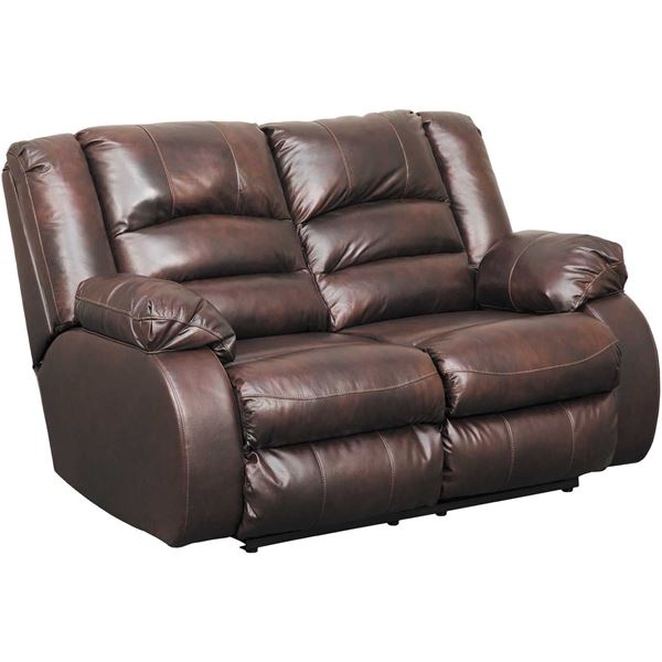 Levelland Leather Reclining Loveseat  sc 1 st  AFW & Levelland Leather Reclining Loveseat | 1700186 | Ashley Furniture ... islam-shia.org
