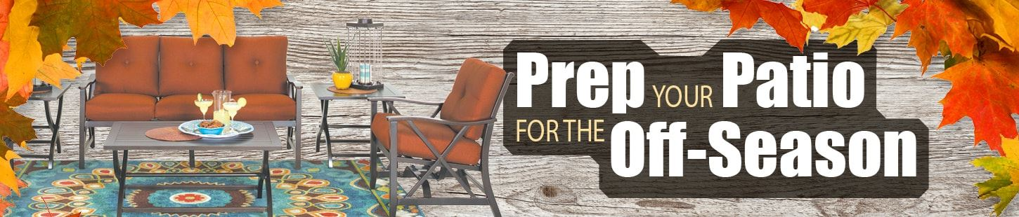 How To Prep Your Patio For The Off-Season