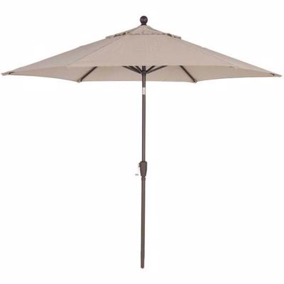 Picture of 9' Umbrella Tilt Push Button -Tweed