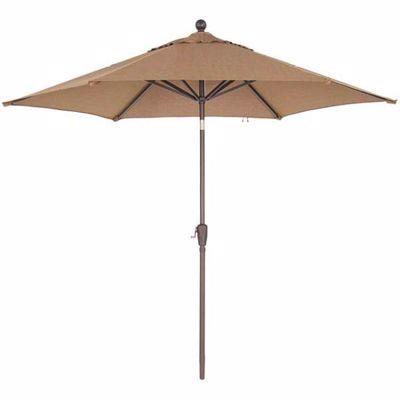Picture of 9FT Push Tilt Umbrella Sesame