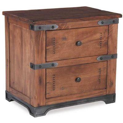 Picture of Parota 2 Drawer Nightstand