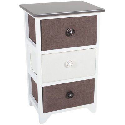 Picture of 3 Drawer Basket Storage Tower