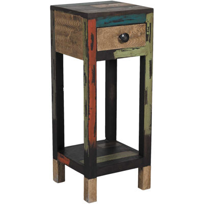 Picture of Reclaimed Wood Phone/Plant Stand