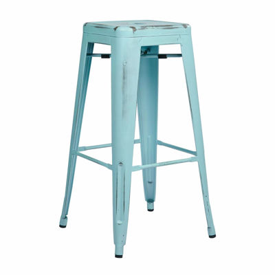 Picture of Bristow Ant Skyblue Barstool 2 Pack *D