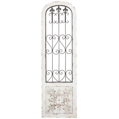 Picture of Wood and Iron Metal Wall Art
