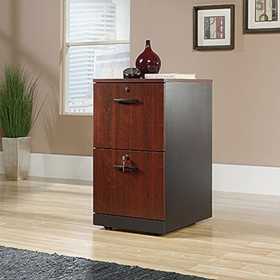 Picture of Via 2-Drawer Pedestal Classic Cherry * D