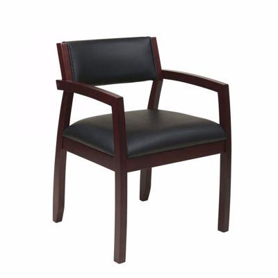 Picture of Napa Mahogany Office Chair NAP95MAH-EC3 *D