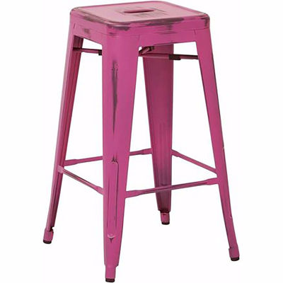 Picture of Bristow Ant Pink Barstool 2 Pack *D