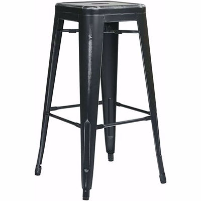 Picture of Bristow Ant Black Barstool 2 Pack *D