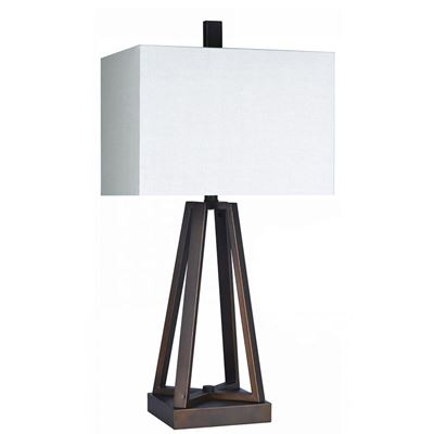 Picture of Bronze Architectural Table Lamp