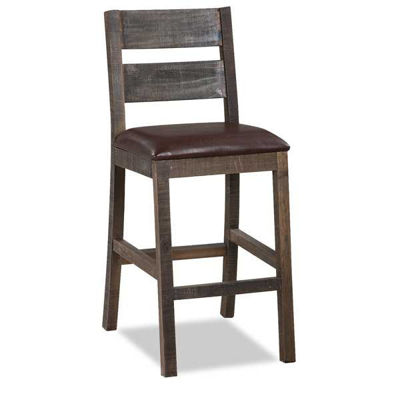 "Picture of Antique 30"" Barstool"