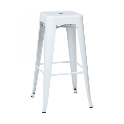 Picture of 30-Inch Mtl White Backless Stool, 4-Pack *D