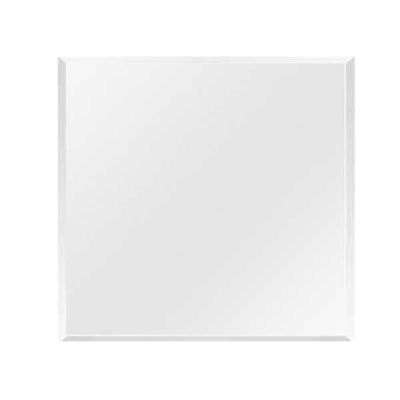 Picture of 1 inch beveled square glass top 36x36