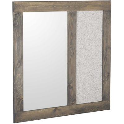 Picture of Cheyenne Driftwood Landscape Mirror