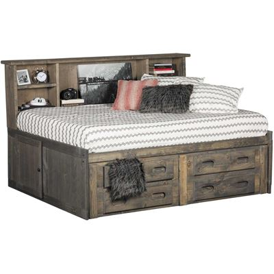 Picture of Cheyenne Driftwood Twin Roomsaver Captain's Bed