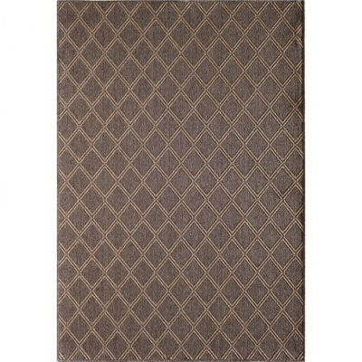 Picture of Easy Clean Diamond Natural 8x10 Rug