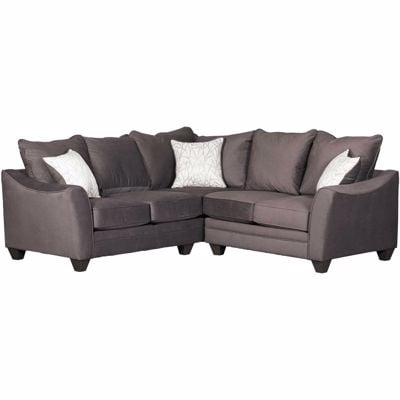 Picture of Flannel Seal 2 Piece Sectional with LAF Sofa