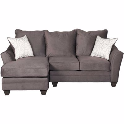 Picture of Flannel Seal 2 Piece Sectional with RAF Loveseat