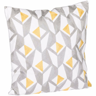 Picture of Yellow Angle 18x18 Pillow