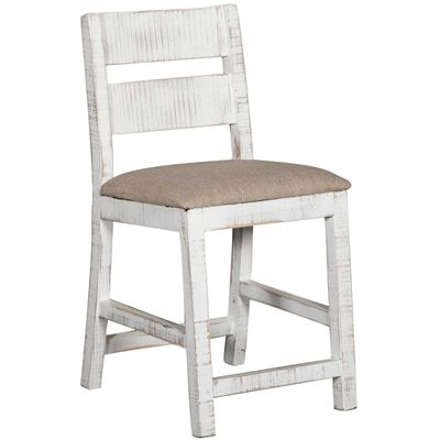 "Picture of Pueblo White 24"" Barstool"