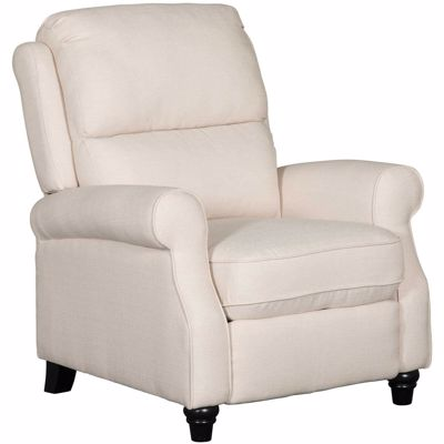 Picture of Cream Push Back Recliner