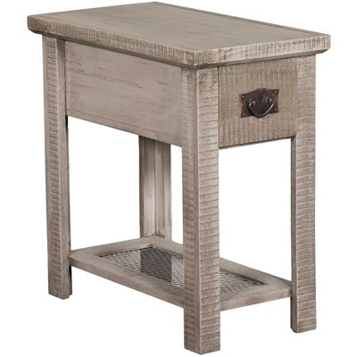 """Picture of 24"""" Chairside Table, Grey"""