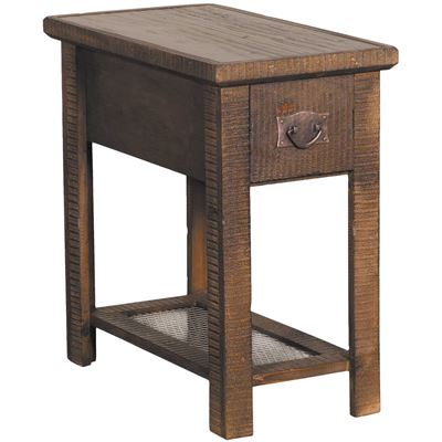 """Picture of 24"""" Chairside Table, Brown"""