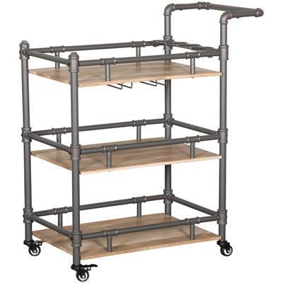 Picture of Hartford Industrial Metal Bar Cart