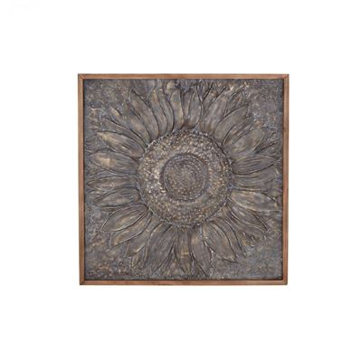 Picture of Flower Metal Wall Decor