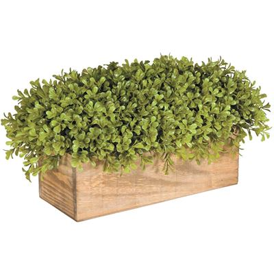 Picture of Faux Plant in Wood Box