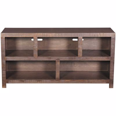 Picture of 54 Inch Canon TV Stand, Chocolate