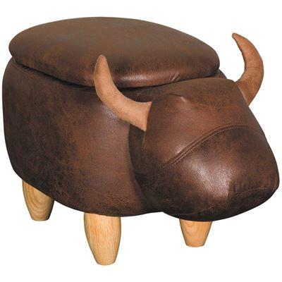 Picture of Bull Storage Ottoman