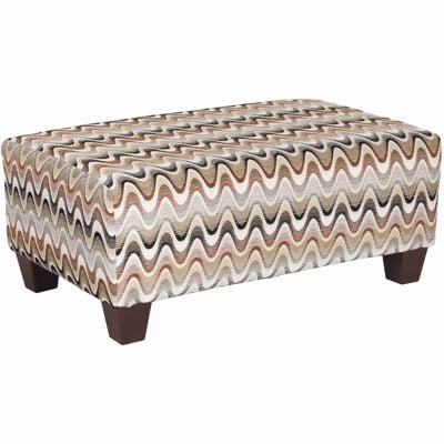 Picture of Ryleigh Waves Accent Ottoman