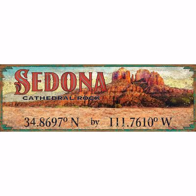 Picture of Sedona Cathedral Rock Sign