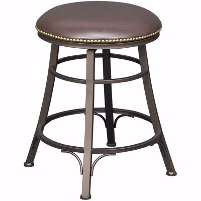 """Picture of Bali 24"""" Backless Swivel Barstool"""