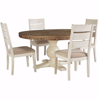 Picture of Grindleburg 5 Piece Round Dining Table Set