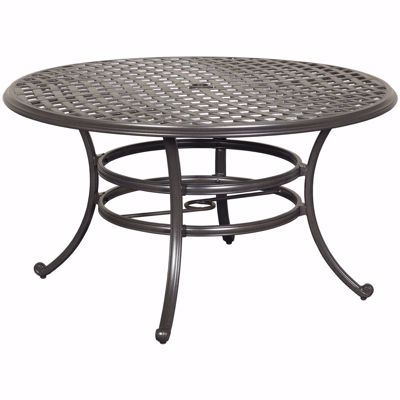 """Picture of Halston 53"""" Round Patio Table"""