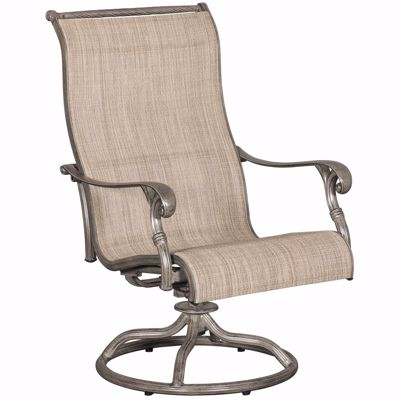 Picture of Macon Patio Sling Swivel Rocker