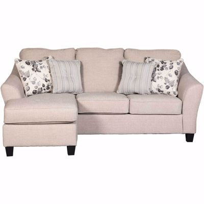 Picture of Abney Driftwood Reversible Sofa Chaise